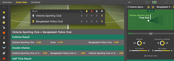Bet365 Live In-Play